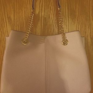 NWT Michael Kors purse with gold double handles
